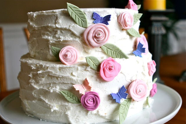 Rustic Flower Cake 002