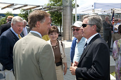6/25/2012 Governor Bill Haslam presents a TDOT Enhancement Grant Check to Chattanooga Officials