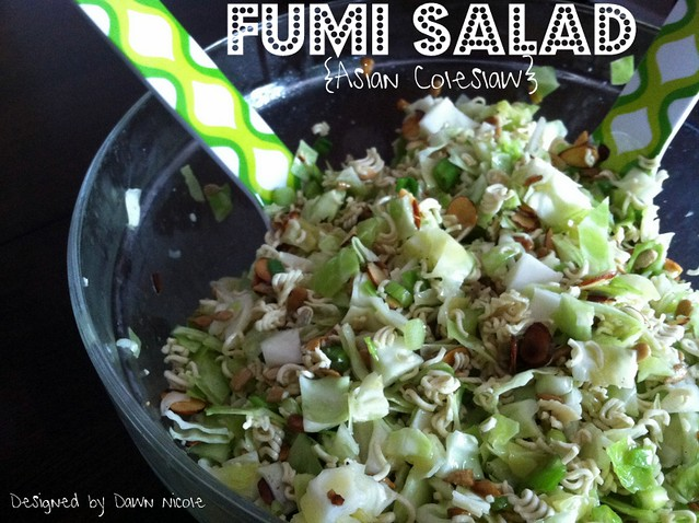Fumi Salad {Asian Slaw}
