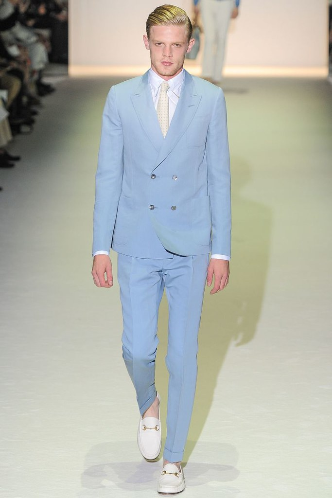 Men'S Powder Blue Suit | My Dress Tip