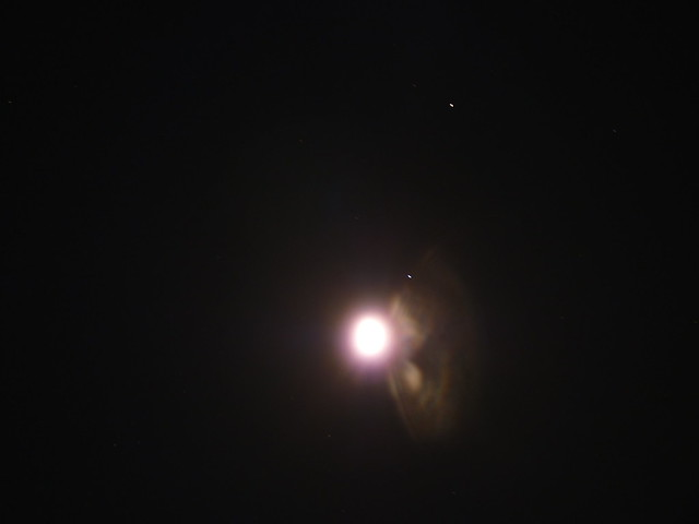 Moon Saturn and Spica Star - Pics about space