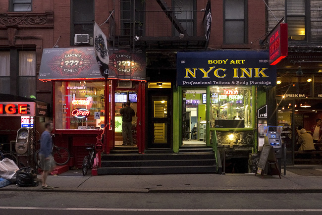 NYC ink, the village