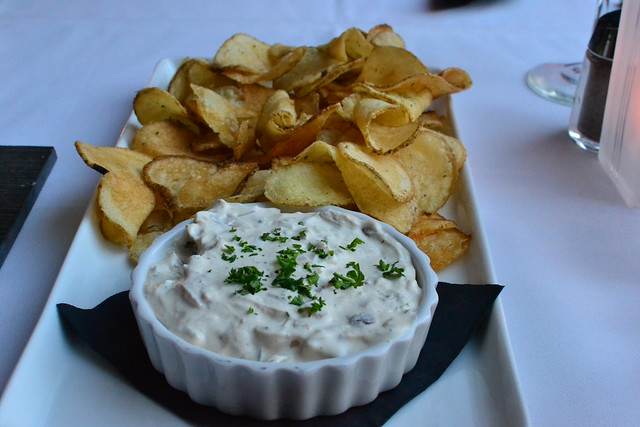 Onion Dip and Chips
