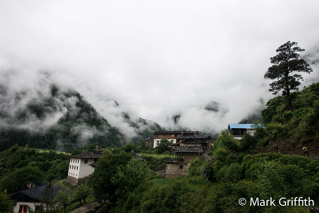 Yubeng in Clouds