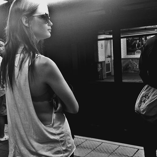 girl, profile