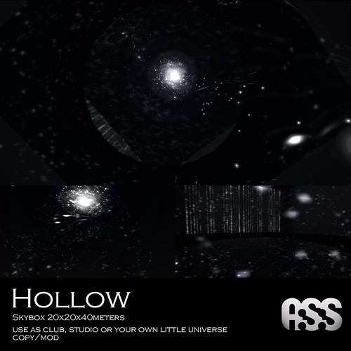 A:S:S - Hollow, (skybox, club, studio, your own little weird universe) by Photos Nikolaidis