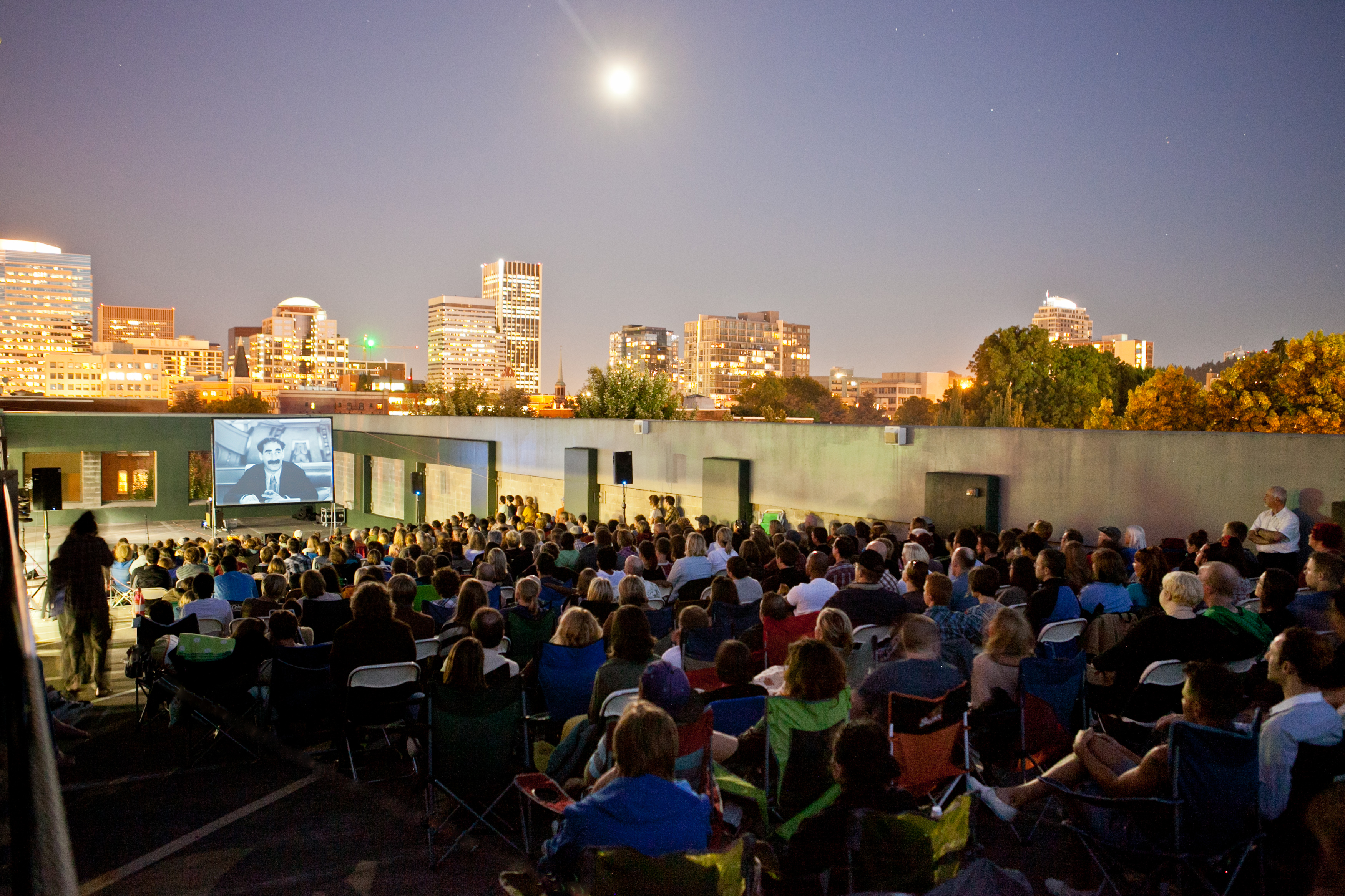Top Down Rooftop Cinema 2012