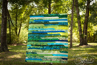 Jelly Roll Race Quilt Tops