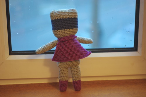 amigurumi #66 L Super-cat back