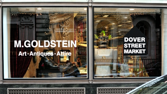 Scale & Distortion: M Goldstein's installation at Dover Street Market