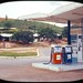 Mobil Gas Station in Lome, Togo - July, 1973 by vieilles_annonces
