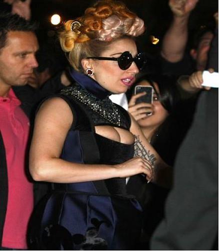 Lady Gaga Sick