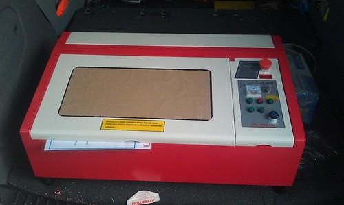 Laser Cutter Arrived