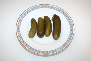 07 - Zutat Cornichons / Ingredient pickled cucumbers