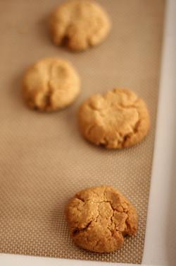 Tahini and Almond Cookies - David Lebovitz