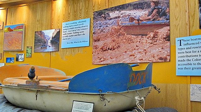 Dock Marston Sport Yak 1963 - Glen Canyon Dam Visitor Center Exhibit