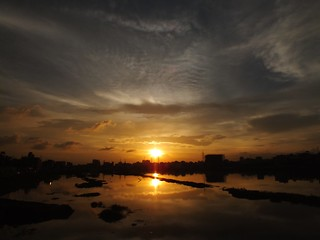 sunset@dhaka