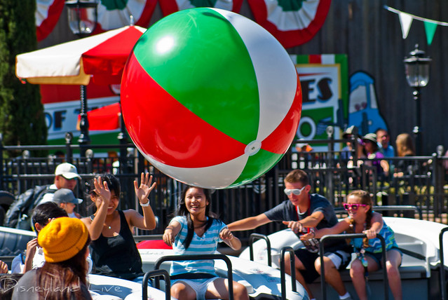 Luigi's Flying Tires Beach Balls - Cars Land