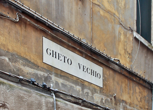Sign, Old Venetian Ghetto