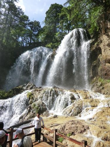 熊猫海瀑布・パンダ海の滝@九寨溝風景区