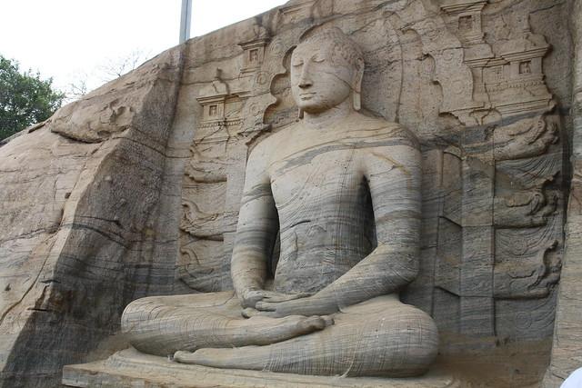 Polonnaruwa ruins: Gal Vihariya