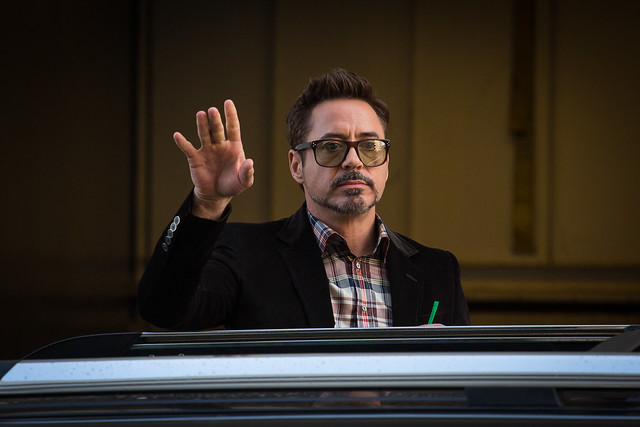 Tony Stark - Robert Downey Jr