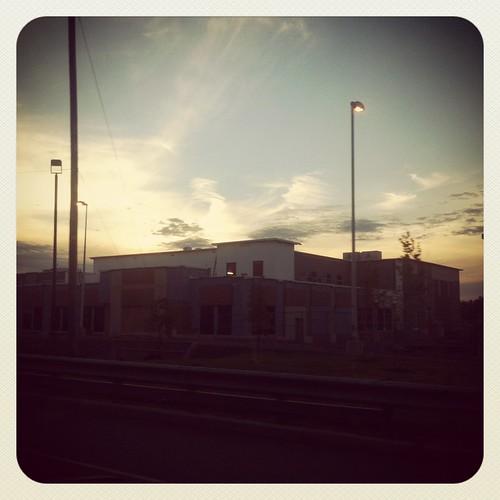 WPIR - setting sun
