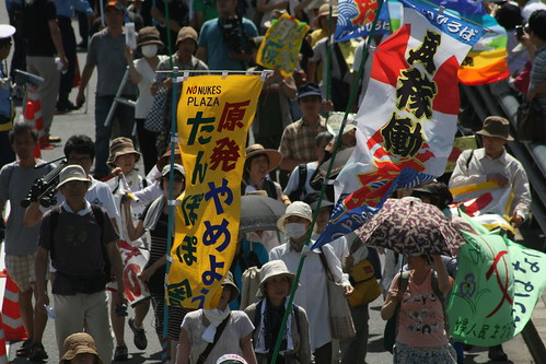 170.000 manifestantes en contra de las nucleares