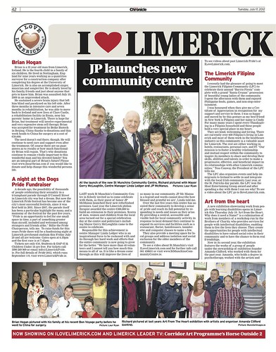 Limerick Chronicle Column 17 July 2012 Page 1