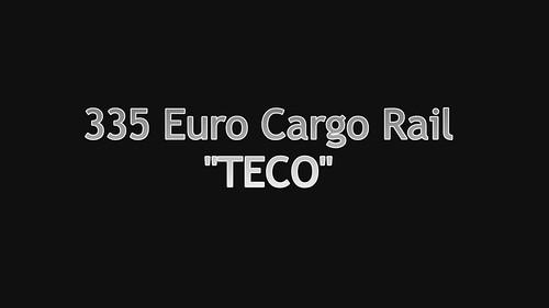 335 Euro Cargo Rail con TECO en Sariñena