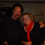 Tom Jones with Rita Houston