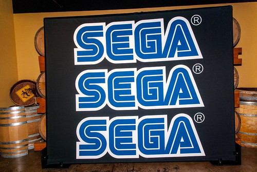 SEGA Pop-Up Arcade at Comic Con 2012