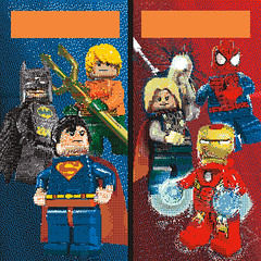 SDCC LEGO Mural - 11