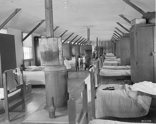 Army Barracks May 21 1946