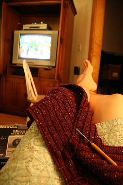 crochet break