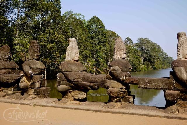 Angkor Thom - Asuras