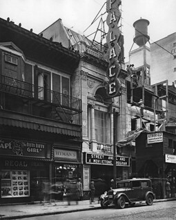 Regal and Palace Theatres, St. Catherine Street, Montreal, QC, about 1927