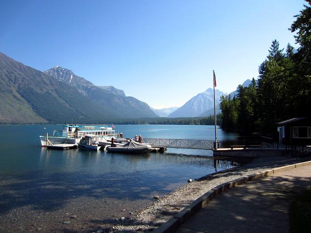 Lake McDonald Lodge Shoreline - 3