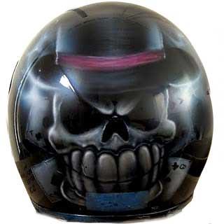 Dead Mans Hand Helmet