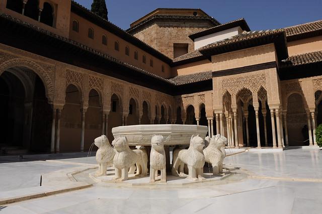 Reapertura patio de los leones de la alhambra el - Patios de granada ...