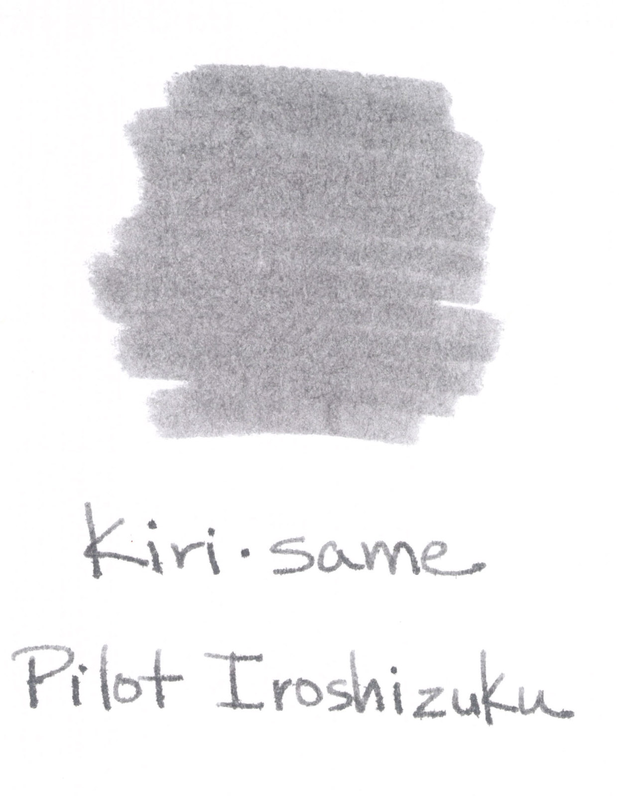 fifty shades of grey page  pilot iroshizuku kiri same delicate hints of red