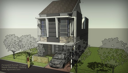 Konsep3D Rumah Pak Bambang