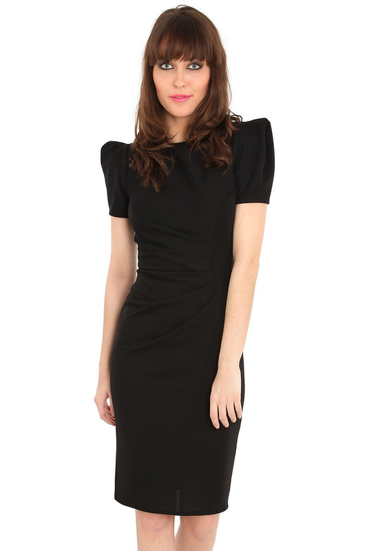 Mad Men Style Fitted Shift Dress