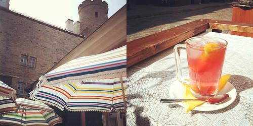 Sunny cafes