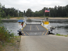 The Wheatland Ferry immediately after I disembarked for the second half of the loop
