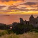 Dunluce Castle Sunset