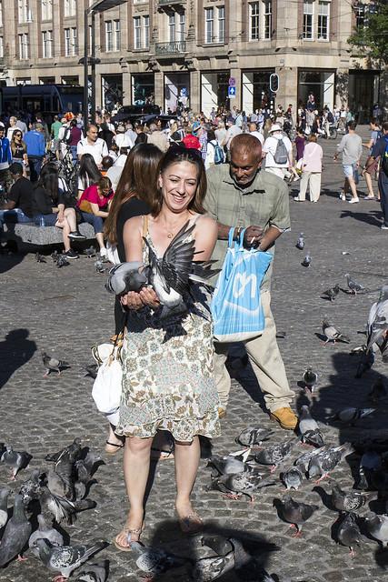 Women love doves