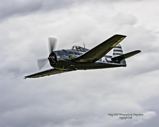 Flying Heritage Collection 1945 Grumman F6F-5 Hellcat NX79863