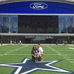 Community Day at The Star in Frisco #GoCowboys