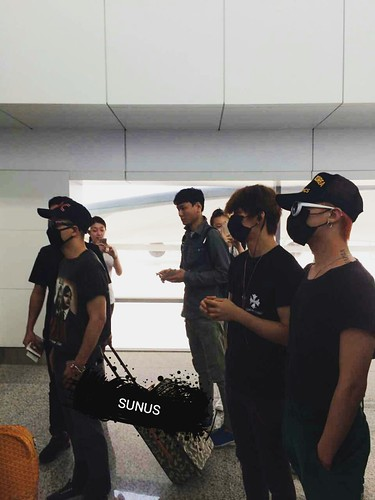 Big Bang - Dalian Airport - 26jun2015 - SUNANDUS - 01